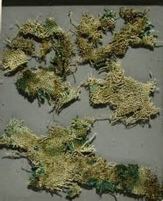 Bronze Age nettle cloth (over 2,500 years old) - Salty Sam's Fun Blog for Children - Post 93 Stinging Nettles * LOADS OF COOL STUFF FOR KIDS * CRAFT TUTORIALS * FREE DOWNLOADS – www.christina-sinclair.com