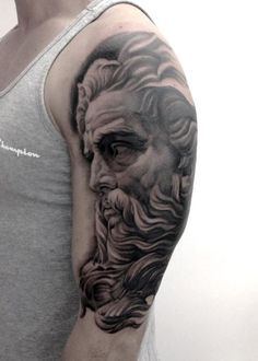I've done this Zeus portrait last year and I'm still in love with it.