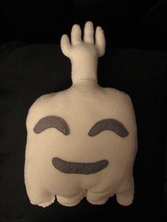 Pillow for my room? Awww yeaaaah. Regular Show High-Five Ghost fleece plush. $15.00, via Etsy.