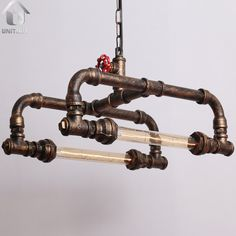 Unitary BRAND Industrial Pendant light Metal E27 2x40w Copper Painted Finish