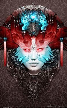 Illustrations By Borja Fresco Nekro | Cuded