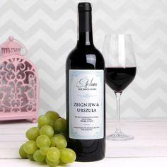 Personalizowane Czerwone Wino PERŁOWA
