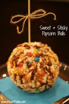 Sweet & Sticky Popcorn Balls