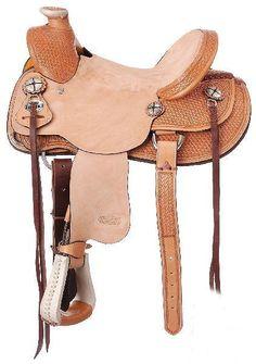 Montana Kids Western Saddle Brown or Black 10/'/' Seat NEW