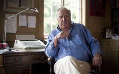 Best-selling novelist reveals how he worked as spy for more than two decades after being recruited by Secret Intelligence Service Frederick Forsyth, Home Office Layouts, Room Of One's Own, Writers Write, Work Tools, Film Music Books, Famous Men, In Writing, Intelligence Service