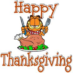 Happy Thanksgiving Garfield