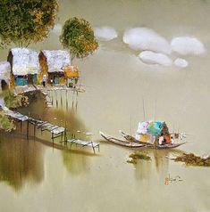 Dang Can, 1957   Landscape/Figurative painter   Tutt'Art@   Pittura * Scultura * Poesia * Musica  