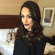 Brie Bella- love her makeup and style!