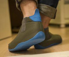 GoodFoot Optimal Slippers Ensure You Aren't Too Hot or Too Cold #socks trendhunter.com