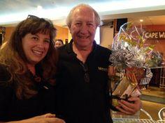 Winner! Winner! Turkey Dinner! At Capetown on Miramar Road.... the big Raffle at a ChefMarian.com Event!