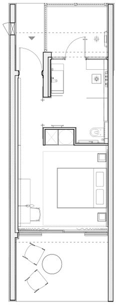 Plan Bungalow 2