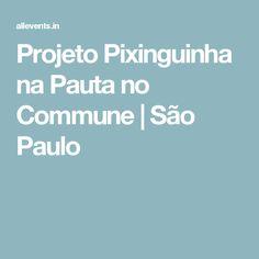 Projeto Pixinguinha na Pauta no Commune | São Paulo