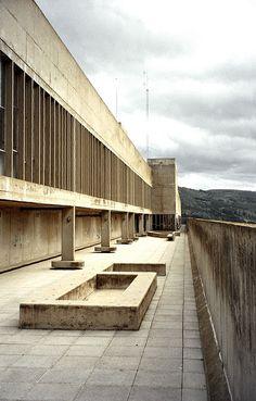 Unité d'habitation, Firminy, France, 1960