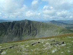 Brim Fell, main spine of ridge between Old Man of Conniston up to Swirl How