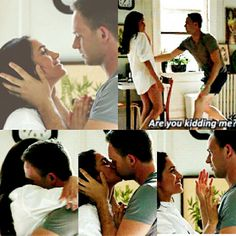 Mike Ross and Rachel Zane #suits
