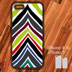 iPhone Case Chevron Strip Graffiti Color iPhone 5/4/4s by ROOMCASE, $15.50