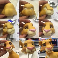 1 million+ Stunning Free Images to Use Anywhere Fimo Disney, Polymer Clay Disney, Polymer Clay Figures, Polymer Clay Animals, Fondant Figures, Cake Topper Tutorial, Fondant Tutorial, Fondant Cake Toppers, Fondant Cakes