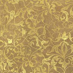 Penny Black - Filigree Gold Foil Paper