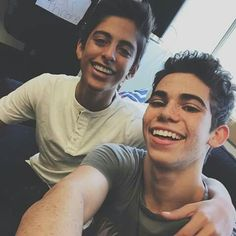 Cameron Boyce and Karan Brar