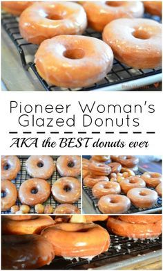 Pioneer Woman's Glazed Donuts Pioneer Woman's Glazed Donuts are the BEST donuts you'll ever eat. I've been making this easy donut recipe for years and can honestly tell you it's PERFECT! - The Pioneer Woman's Glazed donuts AKA the best donut recipe ever Best Donut Recipe, Donut Recipe Pioneer Woman, Baked Doughnut Recipes, Amish Donuts Recipe, Fried Doughnut Recipe, Fry Donuts Recipe, Easy Yeast Donut Recipe, Cake Donut Recipe Baked, Pioneer Woman Cookies