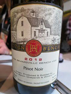 Hidden Bench Pinot Noir 2012 from VQA Beamsville Bench, Niagara Peninsula, Ontario, Canada (91 pts)