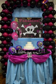 Decoração de Festa Monster High #decoracao #decoration #monsterhigh #monster  #festa #party