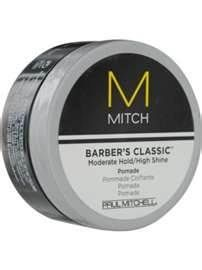 Barber's Classic   Moderate Hold/High Shine  Pomade by Paul Mitchell