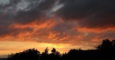 Skrivebordsbakgrunn: Kveldshimmel / Evening sky