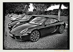 Porsche at Sharnbrook car show 2013