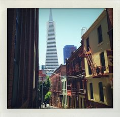 Osgood Place #SF #alley #pyramid
