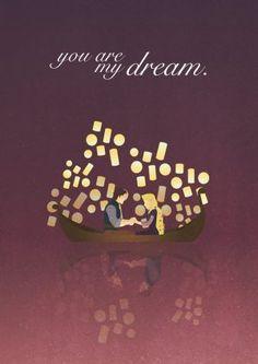 Disney Tangled Illustration