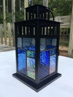 Excited to share this item from my shop: Metal Stained Glass Lantern - Stained Glass Lantern - Glass Lantern - Hanging Lantern - Candleholder - Stained Glass Candleholder Making Stained Glass, Stained Glass Designs, Stained Glass Projects, Stained Glass Patterns, Stained Glass Art, Stained Glass Windows, Glass Front Door, Glass Door, Window Glass