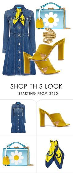 """""""Untitled #203"""" by pesanjsp ❤ liked on Polyvore featuring M.i.h Jeans, Gianvito Rossi, Mark Cross, Hermès and Tom Ford"""