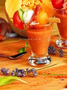 +tomates//Gaspacho melon pastèque au Piment d'Espelette