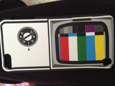 Awesome iPod 5 case from five below! Old fashioned TV set!