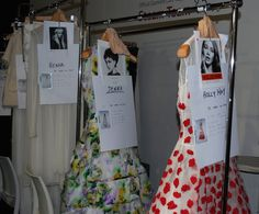 John Rocha SS14 backstage #lfw #ss14 #fashion #model #backstage