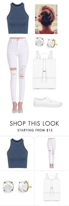 """""""outfit"""" by jordynsena on Polyvore featuring Topshop, Meli Melo and Vans"""
