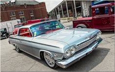 1962 Chevrolet Impala, via Flickr.