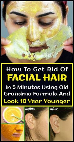 How To Get Rid Of Facial Hair In 5 Minutes With Old Grandma Formula And 10 . - How to get rid of facial hair in 5 minutes with Old Grandma Formula and look 10 years younger – Wo - Beauty Tips For Face, Natural Beauty Tips, Beauty Secrets, Beauty Hacks, Natural Hair Styles, Face Tips, Diy Beauty, Beauty Ideas, Beauty Products