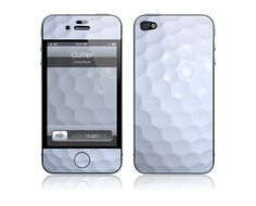 Golfer Iphone cover
