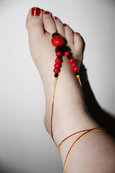 Adjustable Barefoot Sandals by SpellbindingJewelry on Etsy, $5.00