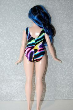 Swimsuit for Curvy Barbie fashionista fashion doll clothes