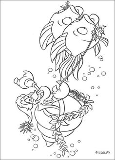 40 The Little Mermaid Printable Coloring Pages For Kids Find On Book Thousands Of