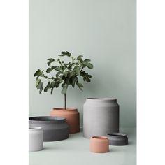 Pot Vase hellgrau | Ferm Living