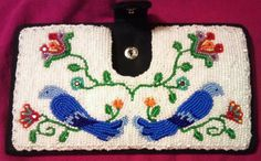 Wallet / checkbook That I beaded