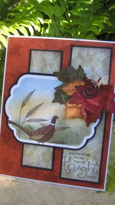 Autumn Days by Grandma Overboard - Cards and Paper Crafts at Splitcoaststampers