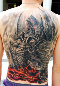 When it comes to getting dragon tattoos, there is a near-endless amount of creative freedom. Here are 80 cool dragon tatoo designs to check out. Tattoos For Guys Badass, Dragon Tattoos For Men, Dragon Tattoo Designs, Tattoo Designs Men, Tattoos Masculinas, Body Art Tattoos, Tribal Tattoos, Sleeve Tattoos, Arabic Tattoos