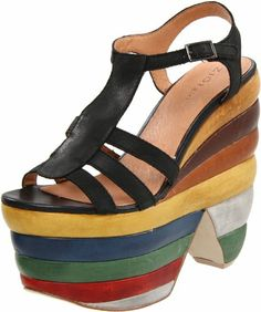 ZiGiny Women's Sundae Sandal « Shoe Adds for your Closet. THis is actually a 70's shoe by Ferragamo.