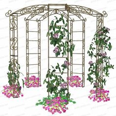 Pergola For Sale Cheap Code: 1157867678 Gazebo Pergola, Pergola Garden, Garden Trellis, Pergola Kits, Aluminum Pergola, Metal Pergola, Garden Arches, Bottle Trees, Privacy Landscaping