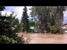 Calgary floods -Riverdale on the Elbow River by Mark B. - YouTube